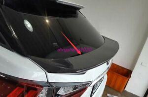 1PCS Real Carbon fiber Rear Spoiler Trunk Tail Cover Trim For Lexus RX 2016-2019