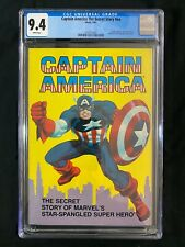 Captain America The Secret Story #nn CGC 9.4 (1981) - SUPER RARE