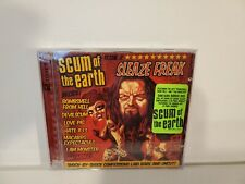 Scum of the Earth Sleaze Freak CD 2 CD's 2007 Eclipse Good Pre-Owned Condition