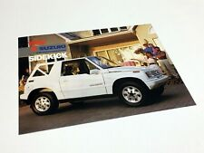 1990 Suzuki Sidekick Information Sheet Brochure