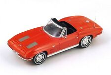 """Chevrolet Corvette C2 Sting Ray Convertible """"Red"""" 1963 (Spark 1:43 / S2969)"""