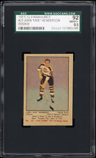 1951-52 Parkhurst #23 John (Murray) Henderson Rookie Card (Bruins) SGC 92 NM-MT+