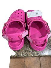 Post Malone x Crocs Duet Max Clog Ii Electric Pink Size Women 8 Men 6 New