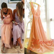 Chiffon Hand-wash Only Solid Maxi Dresses for Women