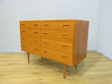 VINTAGE RETRO 60'S DANISH STYLE TEAK CHEST OF DRAWERS BY POUL HUNDEVAD