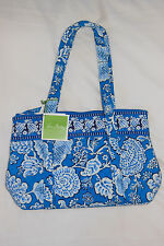 New with Tags VERA BRADLEY (Large) BETSY Handbag in BLUE LAGOON - RETIRED & RARE