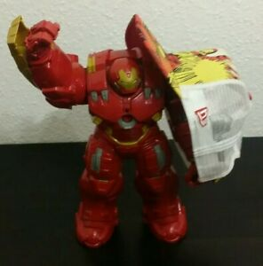 Hulk Buster Iron Man Actionfigur HASBRO + New Era Snapback Cap S/M