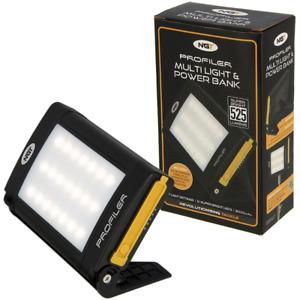 NGT Profiler 21 LED Light and Powerbank 8000mAh Power Pack Camping Equipment