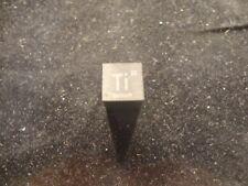 TITANIUM  METAL (TI) MINI 10 MM  CUBE  SQUARE  99.99 % PURE -  UNIQUE METAL GIFT