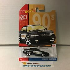 '99 Ford Mustang * 2018 Hot Wheels Throwback Decades 50th Anniversery