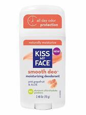 KISS MY FACE Smooth Deo Moisturizing Deodorant pink grapefruit & aloe NEW VEGAN