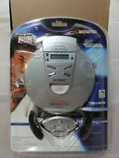 NEW Curtis CD082 Portable CD Player + Headphones + Remote Anti Shock Super Bass