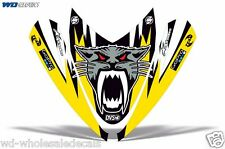 Hood Wrap Decal Nose Graphic Arctic Cat M Series Crossfire Sled Snowmobile AC YL