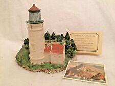Harbour Lights 144 Heceta Head, Or Lighthouse 1994 Coa Box
