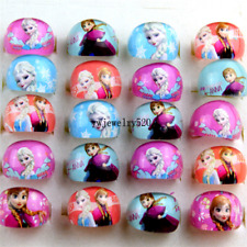 20X Wholesale Mixed Lots Cartoon Girls Princess Children Resin Lucite Rings FREE