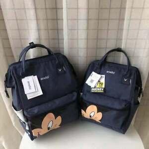 disney world mickey mouse backpack multi-function large capacity shoulder bag