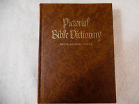 Pictorial Bible Dictionary with Topical Index Illustrated 1968 VGC 24-1K