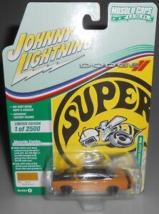 Johnny Lightning Muscle Cars USA 19691/2 Dodge Coronet Super Bee 2021 NEW