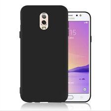 For Samsung Galaxy J7plus C7 2017 C8 Black Ultra Thin Matte Gel Skin Case cover