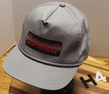VINTAGE TAPECOAT TRUCKERS HAT PIPELINE INDUSTRY SNAPBACK GRAY VERY GOOD COND