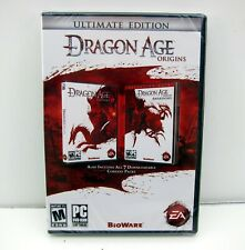 New Dragon Age Origins Ultimate Edition PC DVD-Rom Origins and Awakening + Packs