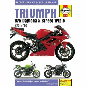 Triumph Paper Motorcycle Repair Manuals Literature For Sale Ebay