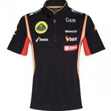 POLO Shirt Zip Formula One 1 Lotus F1 Team NEW! PDVSA Sponsor 2014/5