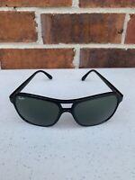 Vintage Bausch Lomb RayBan Aviator Sunglasses France Black ULTRA RARE Ray Ban