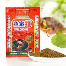 HOT Koi Pellets 12g Pond Aquarium Tank Carp Small Goldfish Fish Food Feed M B2Y0