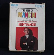 RCA VICTOR THE BEST OF MANCINI FROM TELEVISION MOTION PICTURES 8-TRACK CARTRIDGE