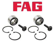 For Audi 80 Quattro 90 Quattro Pair Set of Two Front Wheel Bearing Kits OEM FAG