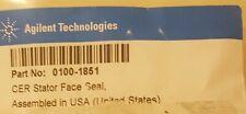 Agilent HPLC Stator face Asssembly part number 0100-1851 new sealed