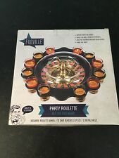 Funville Party Drinking Roulette Shot Glass Game New