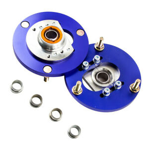 Adjustable Camber Caster Plates for BMW E46 3 Series Suspension Top Mounts