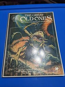 Call Of Cthulhu RPG Great Old Ones Adventures