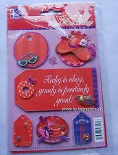 Red Hat Society TAG Grand Adhesions / 3D / K & Co. / Discontinued