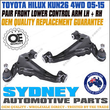PAIR Toyota Hilux KUN26 4WD 2005-2015 Lower Control Arms with Bush & Ball Joints