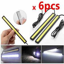 6Pcs 12V White Drl Car Led Strip Light Bar For Camping Caravan Boat Waterproof