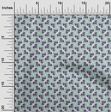 oneOone Palmette Flame Stitch Print Fabric By The Yard - FI-1047A_1