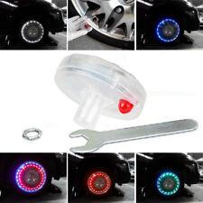 4× Car Auto Wheel Hub Tire Solar Color LED Decorative Light Solar Energy Flash