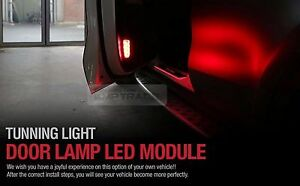 Inside Door Courtesy LED Light Lamp Module Kit 4P for KIA 2017-2018 Sportage QL