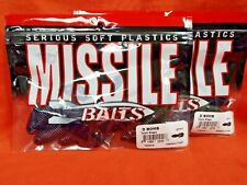 Missile Baits D Bomb (6Pk) Toxic Grape Mbdb45-Txgr (2Pk'S)