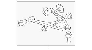 Genuine GM Lower Control Arm 15082977