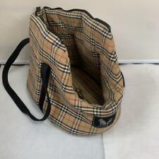 BURBERRY Nova Check Dog Carrier Bag Pet Carrier Bag Small Dog S-M SIze