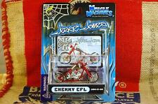 JESSE JAMES WEST COAST CHOPPERS CHERRY CFL MUSCLE MACHINES 2004 1:31 DIECAST c25