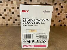 GENUINE OKI 42126602 DRUM MAGENTA TONER C5100,C5200,C5300 *FREE SHIP* / URS1-18