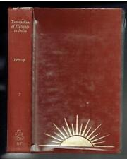 Prinsep; History of the Political and Military Transactions in India Vol II Good