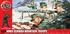 AIRFIX 1/32nd Scale World War II German Mountain Infantry Plastic Soldiers Set