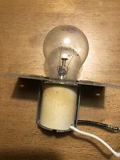 New listing Thermador Oven Light Socket Porcelain + Bulb+ Bracket Part #14-12-830 Tested