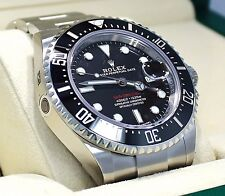 Rolex Sea-Dweller 4000 126600 Steel Diver Watch Ceramic Bezel 2017 Edition *NEW